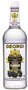 Georgi Vodka Grape 1.00l - Case of 12